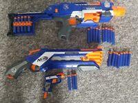 3 x Nerf Guns