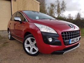 Peugeot 3008 1.6 HDi FAP Allure SUV 5dr p/x welcome *SUNROOF*HEADS UP DISPLAY*