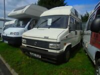 Fiat Ford Merc Citreon Campers Motorhomes