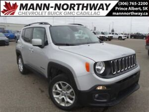 2016 Jeep Renegade North | Cloth, Cruise Control, Bluetooth, 4x4