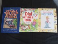 3 x Children's Books (2 story books + 1 Times Table book) Used