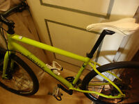 Pinnacle Lithium Three Mens Hybrid Bike