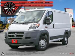 2016 Ram ProMaster 1500 LOW ROOF CARGO W/BACK-UP CAMERA