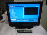"""Sanyo CE19LD86DV-B 19"""" HD Ready LCD Television with Freeview."""