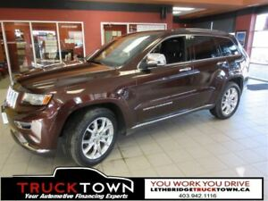 2014 Jeep Grand Cherokee SUMMIT-FULLY LOADED-LOW KMS