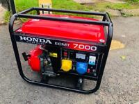 Honda silent generator