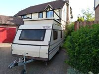 FLEURETTE TAMARIS 31TS POP TOP 5 BERTH RETRO CARAVAN