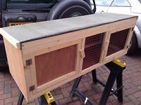 Brand new 4ft outdoor rabbit hutch