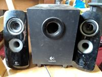 Logitech Z323 Speakers for PC or 3.5mm device