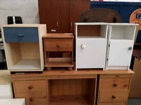 Selection of Bedside Tables Available. Priced Separately