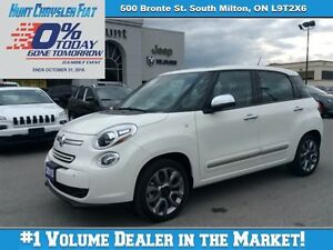 2015 Fiat 500L LOUNGE LOADED!!! PANA, BT, NAV, CAM & MORE!!!