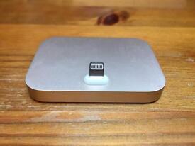 Apple Gold Lightning Dock