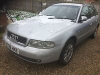 Audi A4 1.8 estate spares or repairs