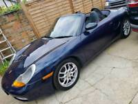 Porsche boxster 1998 convertible low mileage 102k Long MOT part exchange welcome