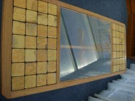 G-Plan Coffee Table - Wood, Glass & Tile