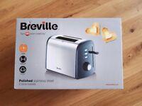 Brand new Breville 2 slice toaster