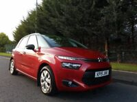 MAY 2015 CITROEN C4 PICASSO VTR + E-HDI FULL CITROEN SERVICE HISTORY MAGNIFICENT EXAMPLE £20 ROADTAX