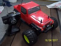 HOBAO DOMINATER RC 1/8 4WD MONSTER TRUCK RTR