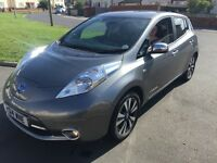 2014 Nissan Leaf full electric with extras owned Battery