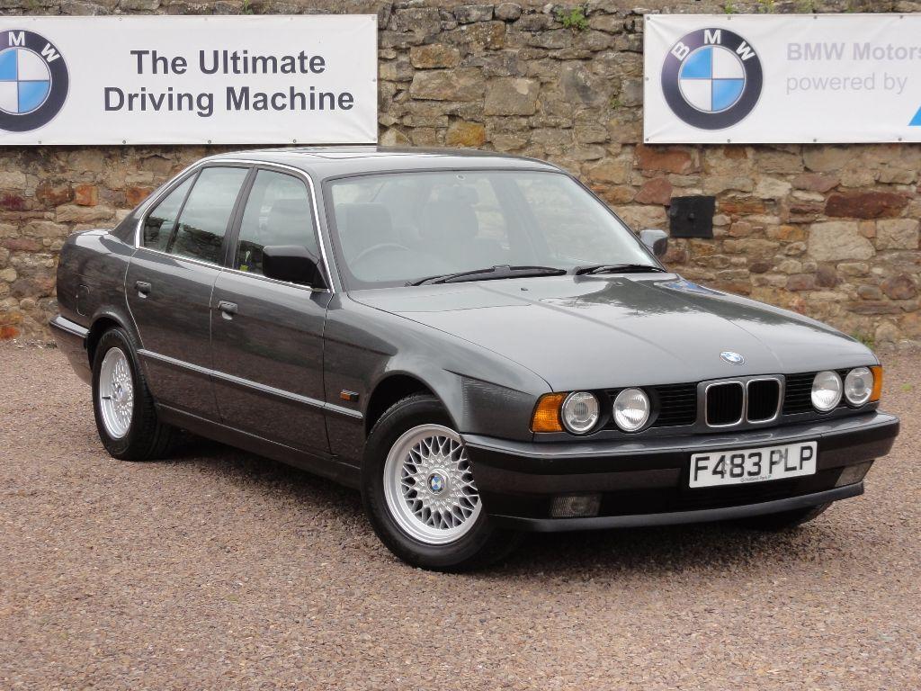 BMW E34 525i SE Saloon, Manual. *** 1 Owner ***