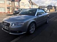 Audi A4 Convertible 2.0 T Tfsi 2008 Low Mileage Full Service History 1 Year MOT