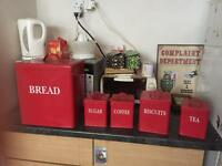 BREAD KITCHEN BINS CONTAINERS SET