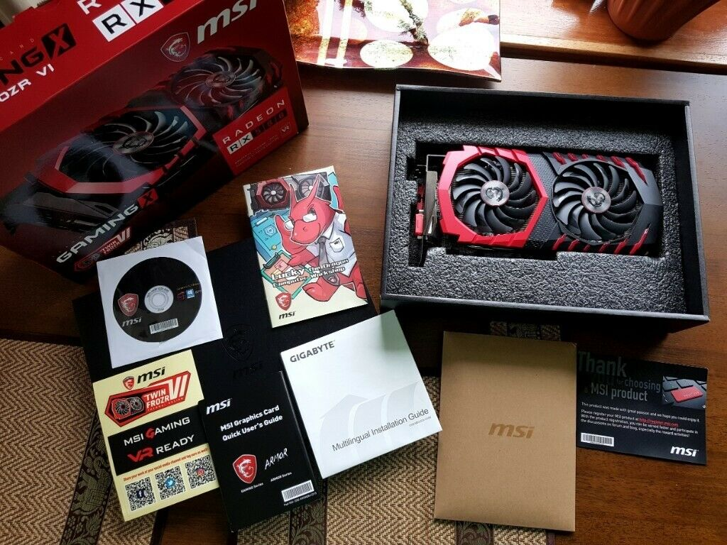 MSI Radeon RX580 8GB video card ( GAMING X) excellent condition | in  Southside, Glasgow | Gumtree