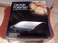George Foreman 'entertaining' 7 portion grill