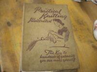 Vintage Book Prackical knitting Illustrated
