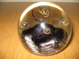 Caithness Glass Parallel Lines Paperweight