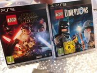 Lego Dimensions games - disc only PS3