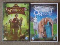 2 Children's DVDs: 'The Secret of Moonacre', 'The Spiderwick Chronicles