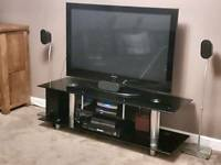 Large Glass TV Stand (For Large Screen Plasma/LCD TV's)