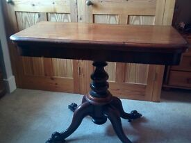 Antique Card Table - good condition
