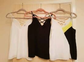 3 River island tops size 12