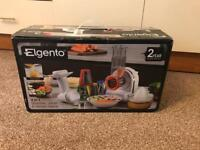 Elgento 3 in 1 Shredder, Juicer and Dessert Maker