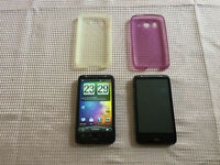 FOR SALE TWO ** HTC Desire HD ** PHONES