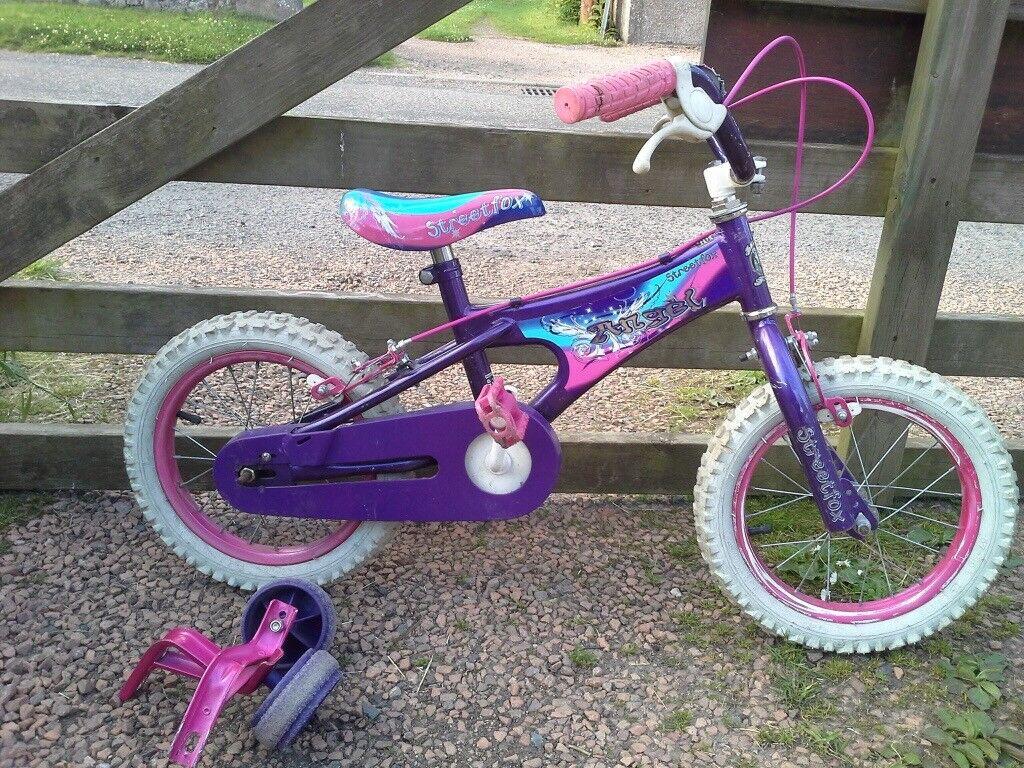 Girls bike, 5yr old