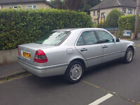 Mercedes C180 Automatic. Years MOT, Elec windows,roof,central locking,alarm,2 previous owners.