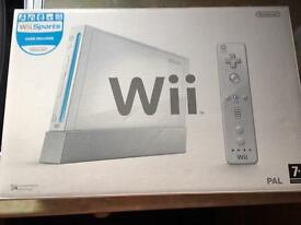 Nintendo Wii white console bundle