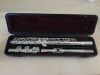 Yamaha Flute 211 Silver Plated