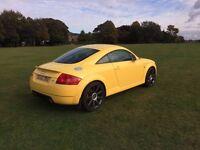 Audi TT 225 Quattro Coupe Facelift 80k Rare Imola Yellow