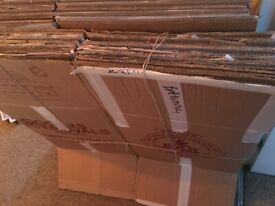 Free moving boxes. Different sizes, S, M, L.