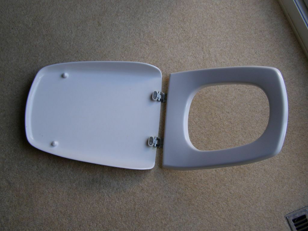 Ideal Standard Toilet : Rare ideal standard toilet seat and lid in redbourn hertfordshire