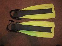 Seeman Sub scuba boot fins