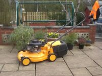 McCULLOCH PARTNER 431 HAND PROPELLED PETROL LAWNMOWER