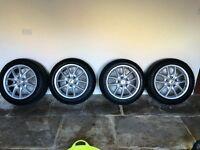 "Porsche Cayenne (Fits Q7 or Toureg) 19"" wheels and 255/50 R19 winter tyres"