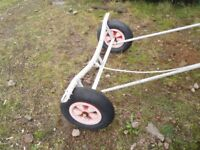 Small Dingy Launching Trolley