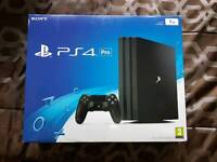 Sony Ps4 Pro 1TB New & Call Of Duty Infinite Warfare