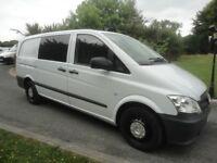 2013 Mercedes VITO 6 Seat Crew Van